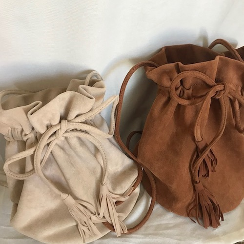 Daily suede bag