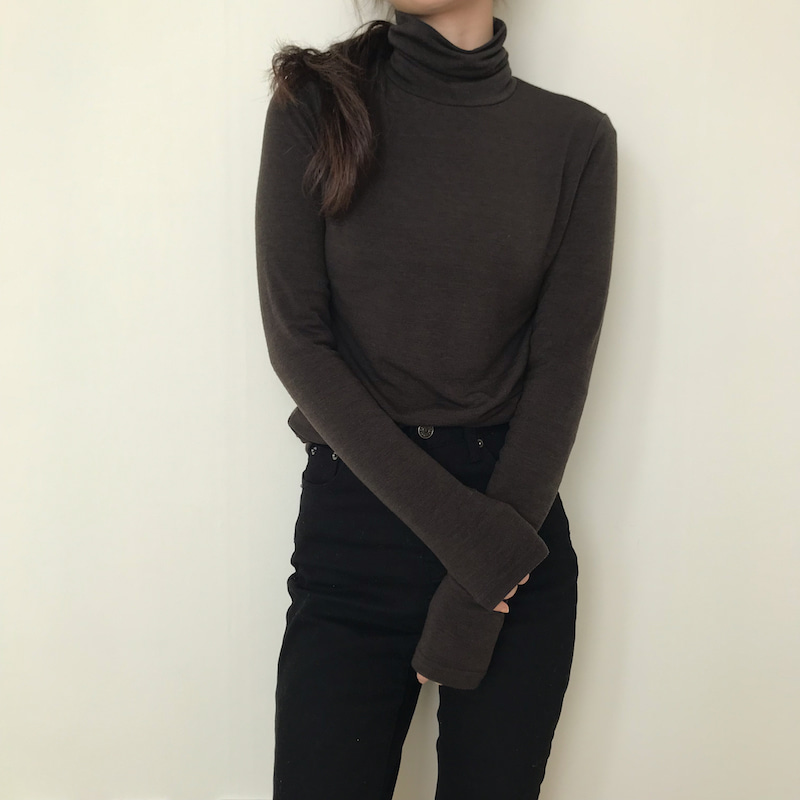 Basic turtleneck in 5 colors